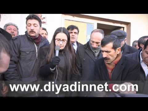 BDP Adayı HAZAL ARAS Diyadin'de seçim startını verdi