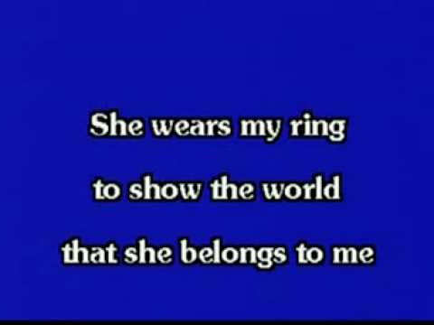 She Wears My Ring Elvis Karaoke