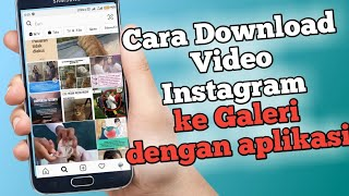 Gambar cover Cara download video di Instagram dengan aplikasi