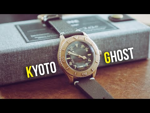 UNDONE Kyoto Ghost Basecamp Watch Review | Bronze Dive Watch