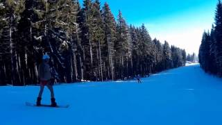 В купальнике на сноуборде. Буковель 2016(, 2016-12-21T02:44:50.000Z)