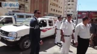 بالفيديو: حملة مكبرة مشتركة بين إدارة المرور وشرطة المرافق بإشراف مدير أمن مطروح