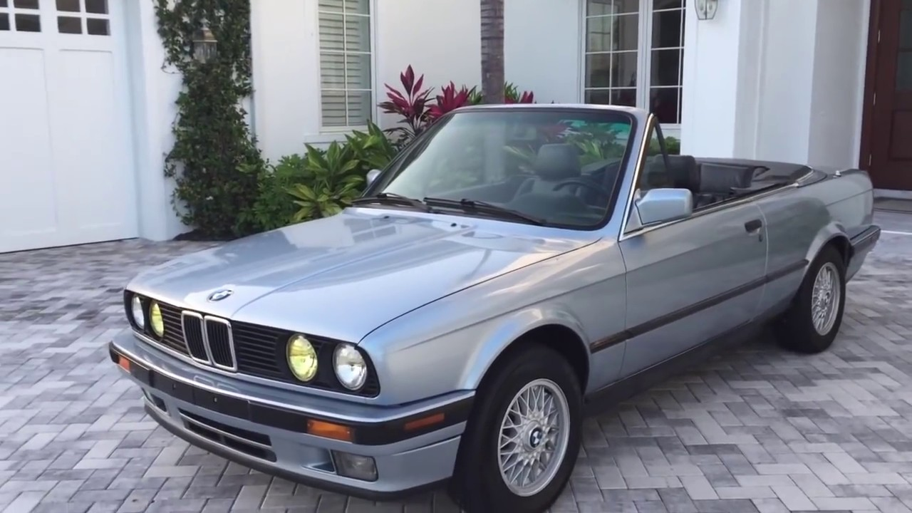 Bill Of Sale Example >> 1992 BMW 325i Convertible E30 Review and Test Drive by ...