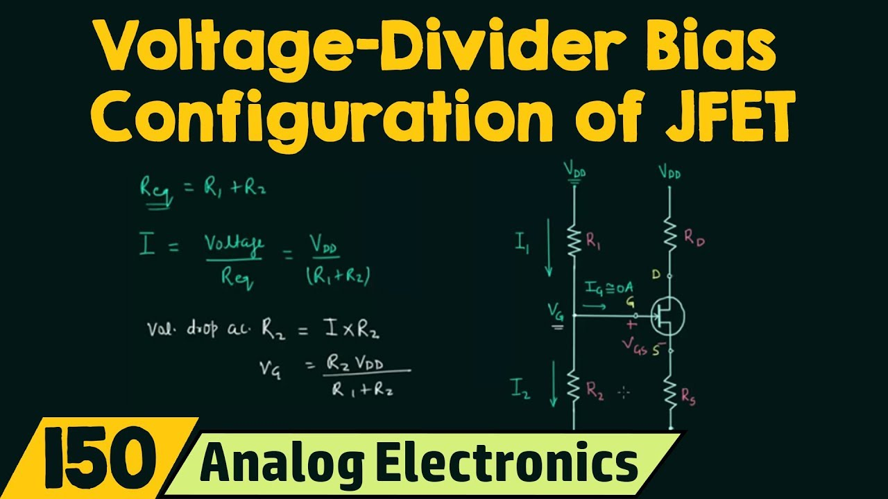 Voltage Divider Bias Configuration Of Jfet Youtube What Is A Circuit