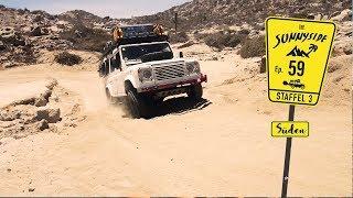 Die härteste Waschbrett-Piste bis jetzt | Baja California, Mexiko 🇲🇽| REISE-DOKU-VLOG³ N° 59