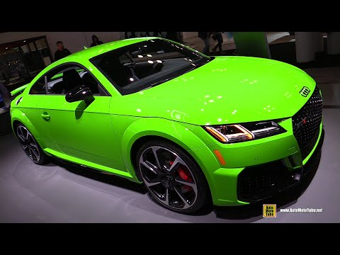 2020 Audi TT RS - Exterior and Interior Walkaround - 2019 NY Auto Show