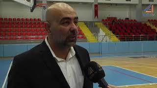Türkiye Kadınlar Basketbol 1. ligi 8. hafta karşılaşması Antalya 07 - Edremit Bld. Gürespor