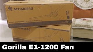 atomberg gorilla e1 1200 fan review – बहुत कम बिजली की खपत 28w power