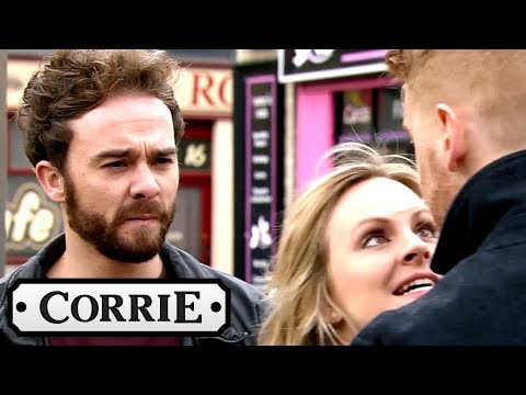 Coronation Street - David and Gary Get Into Another Scrap
