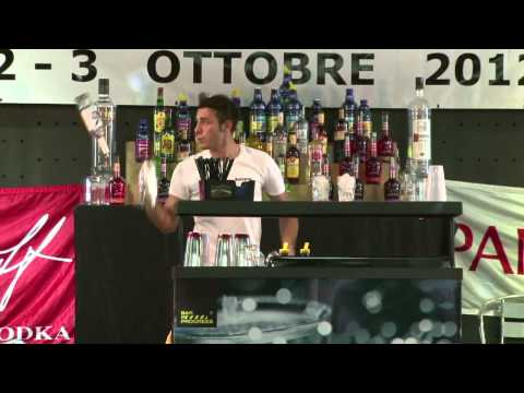 Final round Matteo Melara-Accademia del bar, bartender training institute