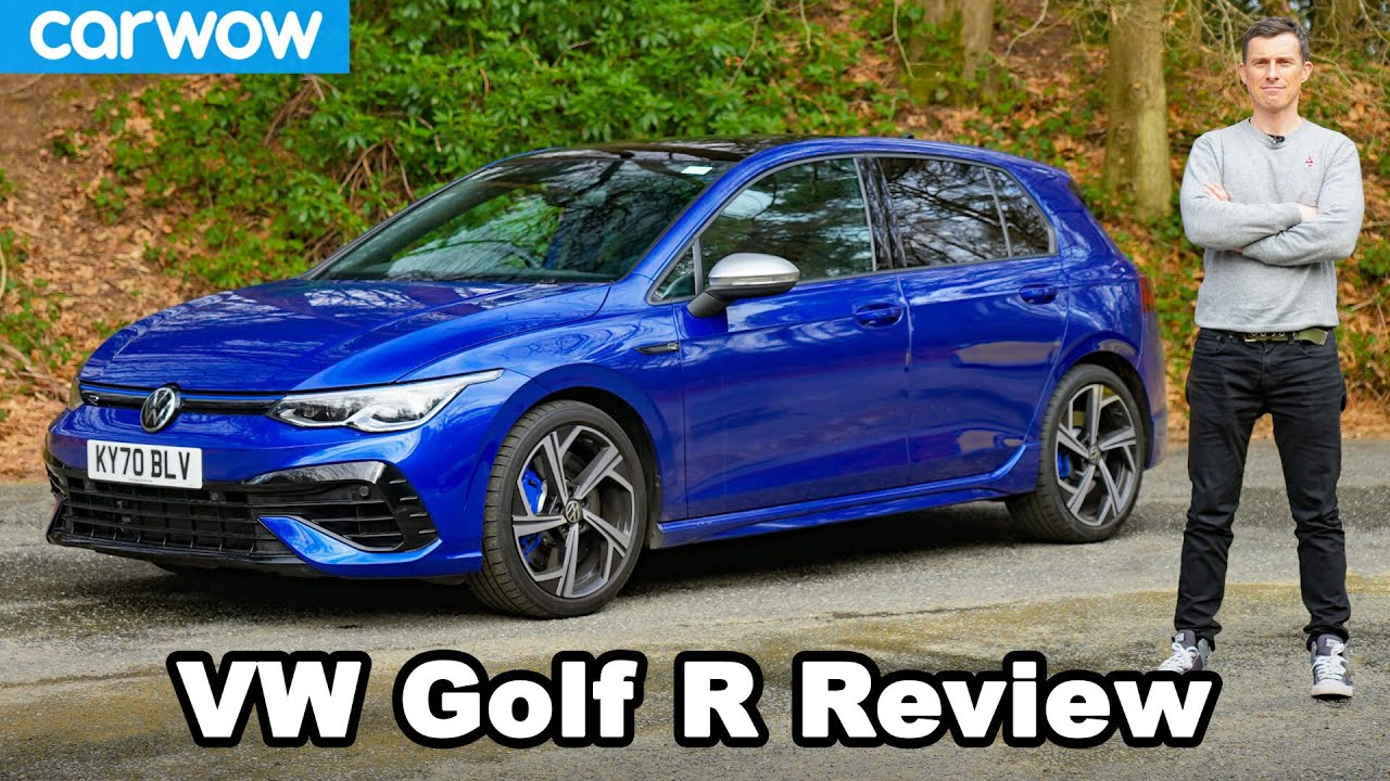Download VW Golf R 2021 review: see how quick it really is 0-60mph!