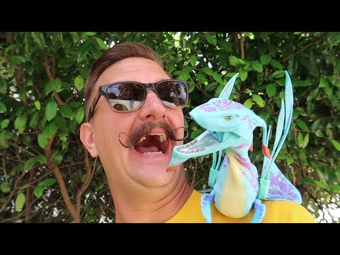 Disney's Animal Kingdom Early Morning | We Adopted A Shoulder Banshee & Do You Need A FastPass?