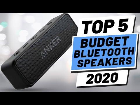 Top 5 BEST Budget Bluetooth Speaker (2020)