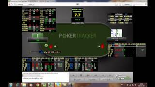 Coffeeyay Heads Up Display (HUD) Poker Strategy Video with PokerTracker 4