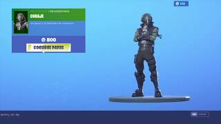 'NEW SKIN' CORAJE - FORTNITE Bataille Royale
