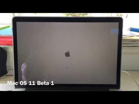 Mac OS 11 Beta