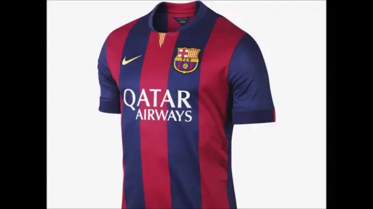 dfabd08a4d411 Las camisetas de futbol más lindas (2014 2015) - YouTube