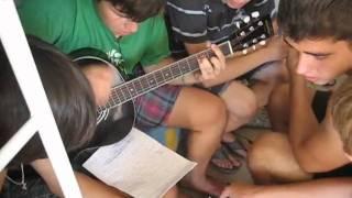песня под гитару . лагель