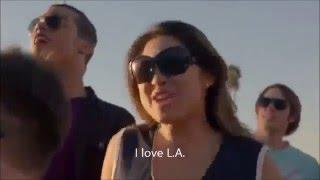 Glee - I love L.A. (Official Music Video + Lyrics)