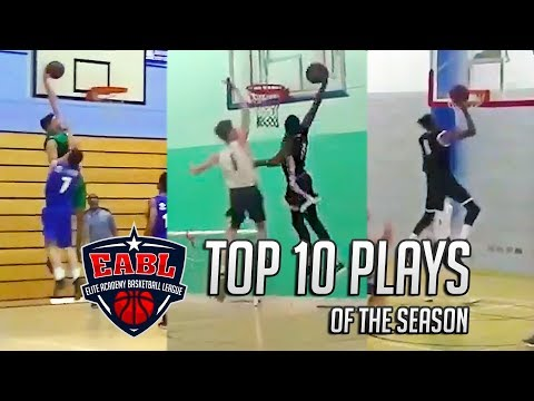 EABL Top 10 Plays of the 2017/18 Season