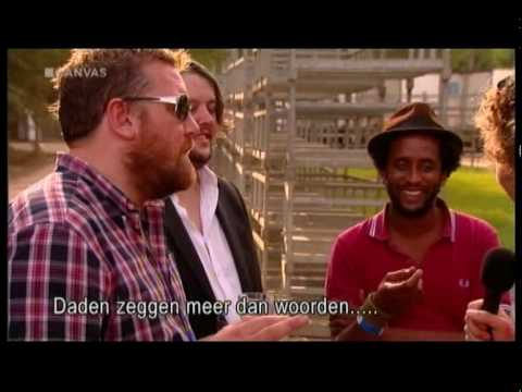 One Day Like This (+interview) - Elbow live@ Werchter (Belgian TV)