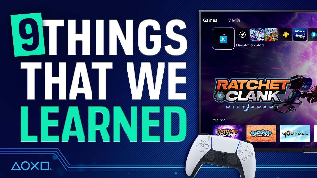 PS5 User Experience and UI Reveal - 9 Things We Learned