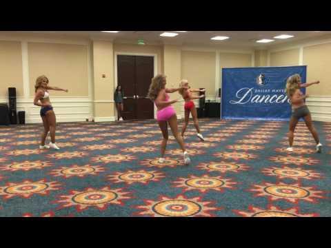 PDC Exclusive: Dallas Mavericks Dancers 2016-17 Final Auditions