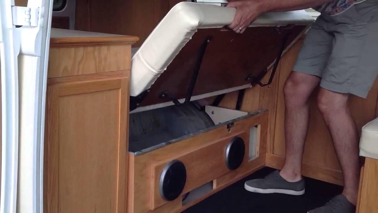Amazing 1965 VW Bus Interior   YouTube