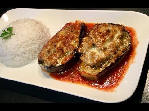 les-aubergines-farcies-À-la-viande-hachÉe