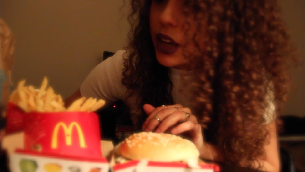 Asmr Eating Mcdonalds Big Mac Meal For The Last Time Eating Sounds Whispering