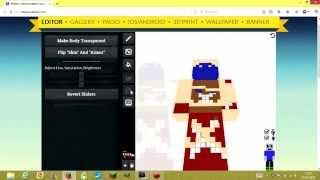[Tuto] - Faire un skin pour Minecraft 1.8 et plus avec Miners Need Cool Shoes