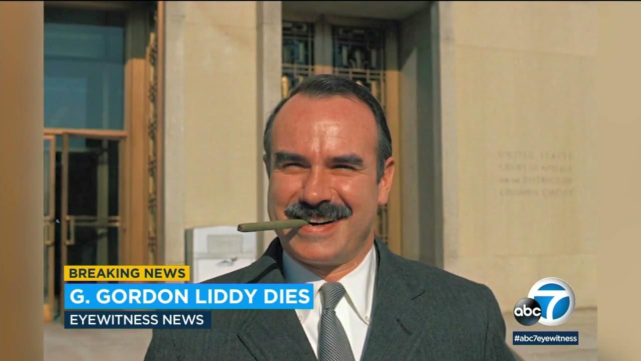 G. Gordon Liddy dies at 90