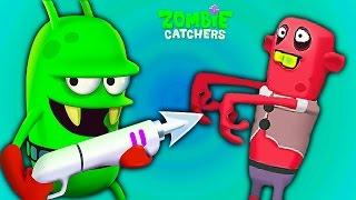 Zombie Catchers #3 Веселое игровое видео для детей мультик про зомби апокалипсис Охотники на Зомби