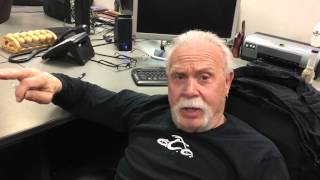 Paul Teutel Sr. on the auctioning of the Orange County Choppers building