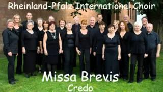 Mozart - Missa Brevis KV258 - 3 Credo - Rheinland-Pfalz International Choir