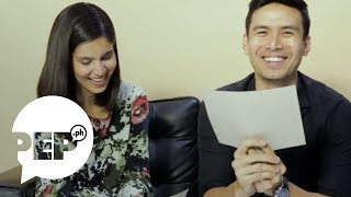 Christian Bautista can't contain his kilig when Kat Ramnani said this... | PEP Challenge