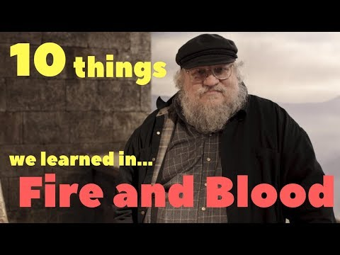 10 things we learned from Fire and Blood Mp3