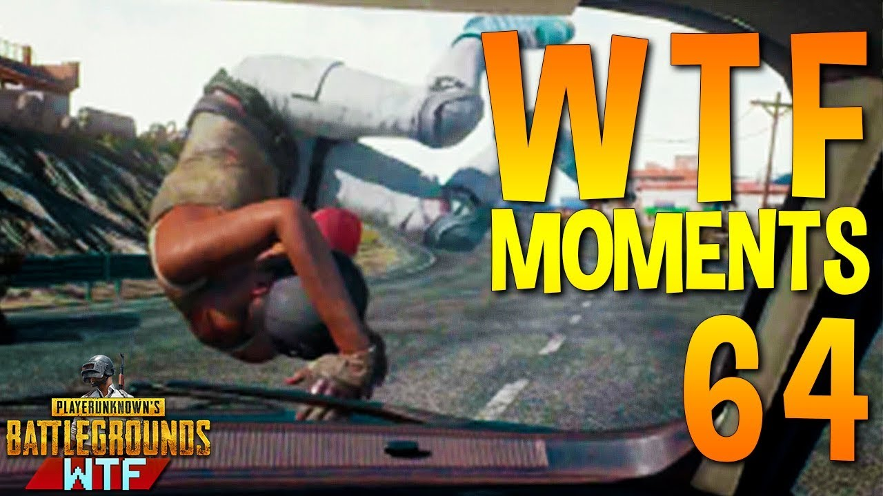 PUBG WTF Funny Moments Highlights Ep 64 (playerunknown's battlegrounds Plays)