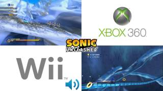 Sonic Unleashed: Cool Edge (Wii vs 360)