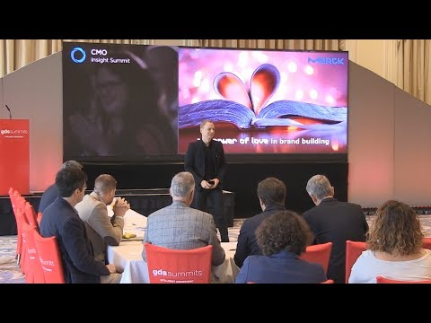 CMO Summit in Scotland on 'the Power of Love in Brand Building'