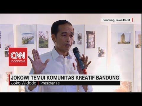 Jokowi Temui Komunitas Kreatif Bandung