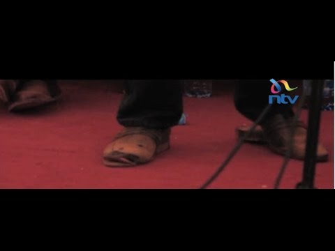 Bulls Eye:  Shoes don't lie, especially Kindiki Kithure's