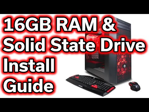 $720 Gaming Computer - How-To Guide - RAM & SSD Install w