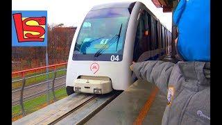 Городские поезда МОНОРЕЛЬС Видео про поезда для детей Urban MONORAIL Video about TRAIN for kids