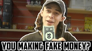 BUYING A GAME FROM PUZZLE ZOO WITH MONOPOLY MONEY!