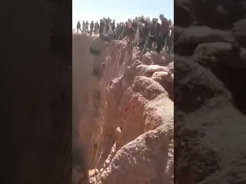 Effondrement d'une à Kouri dans le Tibesti au #Tchad