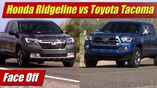 Face Off: Honda Ridgeline vs Toyota Tacoma