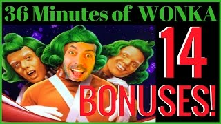 ORANGE is the New BRIAN ✦ 14 Wonka Bonuses in 36 Minutes -Theme Thursdays ✦ Live Play Slots in Vegas