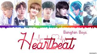Gambar cover BTS (방탄소년단) 'Heartbeat (BTS WORLD OST)' 💜 Lyrics [Color Coded Han_Rom_Eng] | minamochi