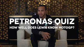 How well does Lewis Hamilton know MotoGP?